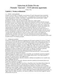 Istituzioni di diritto privato, Gazzoni Ed. XVII, 2015. Appunti sostitutivi