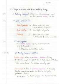 Introduction to Matketing
