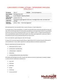 Appunti otorinolaringoiatria