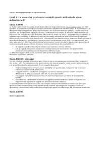 Metodologia della Ricerca Sociale, docente Enrica Amaturo, lezioni 7-8-9 abbinate ai corrispettivi test a risposta chiusa
