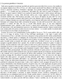 Tipologie di poesia lirica - Estratto manuale Storia della letteratura greca, F. Montanari