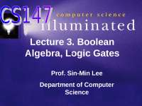 Boolean Algebra, logic circuit