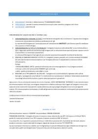 Appunti Immunopatologia AMADORI ZANOVELLO Medicina Padova - Cellular and molecular immunology Abbas, Appunti di Immunologia