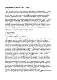 Sbobinature Biofisica prof. Ciranna