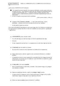 tema 6 .Competencias y competencias básicas