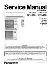 Panasonic service manual