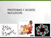 Biología celular molecular