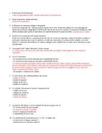 domande e risposte psicometria