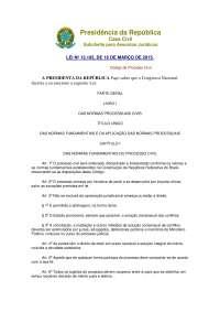Novo código processual civil-atualizado-16-03-2015, Notas de estudo de Economia