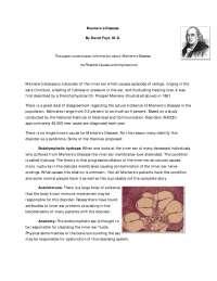 Meniere Disease: A Brief Description