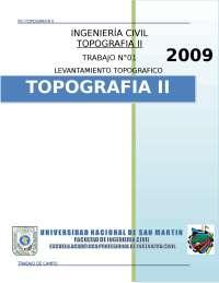 CLASE I DE TOPOGRAFIA METODO DE TRIANGULACION