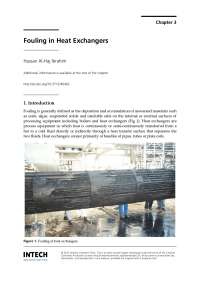 fouling in heat exchangers