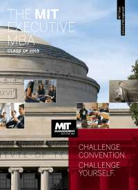 MIT EMBA brochure class 2019