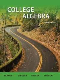 College Algebra 9th Edition by Raymond.A.Barnett