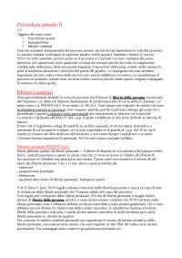 Appunti completi delle lezioni di diritto processuale penale II del professor Caprioli
