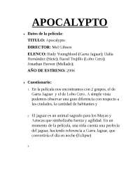 ANALISIS APOCALYPTO COMPLETO SFSAF