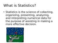 Business statistic lesson 1-5 slides