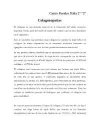 Descripción de las Colagenopatías