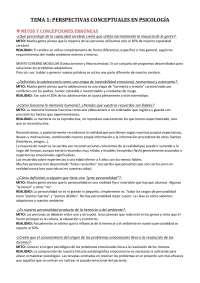 Tema 1, introducción a la psicología, criminología ucm.