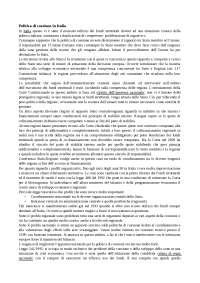 Politica di Coesione in Italia
