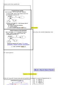 funzioni vettoriali a due parametri