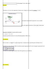parametrizzazione di curve