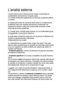 riassunto strategia d'impresa di Onetti e Ramusino