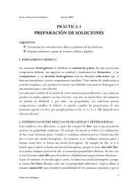 soluciones para quimica laboratorio