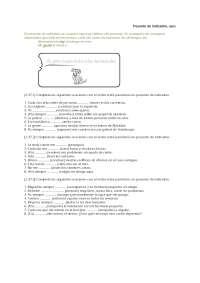 испанский язык упражнения