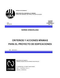 Norma convenio mindur 2002-88