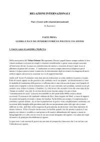 relazioni internazionali testo storia delle relazioni internazionali