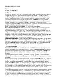 DIRITTO PRIVATO - Istituzioni di Diritto Privato - Università di Bologna
