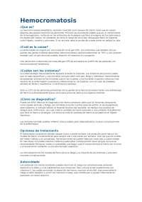 HEMOCROMATOSIS en LOS HUESOS