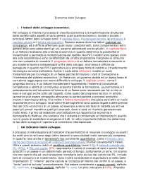 Economia e sviluppo diseguale - Nicola Boccella, Valentina Feliziani, Azzurra Rinaldi