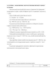 Раздел дипломной работы: Экономика