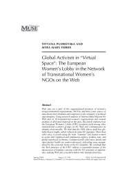 Global Activism worldwide