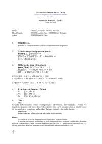 Quimica inorganica experimental