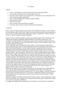 Commento del IV canto dell'inferno della Divina Commedia, per esame di Introduzione a Dante del docente Bellomo Saverio