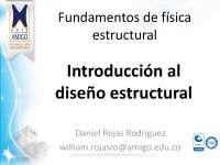 Introducción al diseño estructural