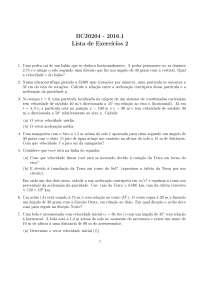 Lista2, Notas de estudo de Ciências Biologicas