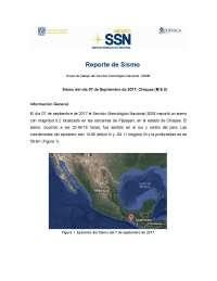 mexico sus pricipales fallas sismicas