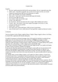 Appunti della lezione del docente Bellomo Saverio riguardo al VIII canto dell'inferno della Divina Commedia di Dante Alighieri per esame di Introduzione a Dante