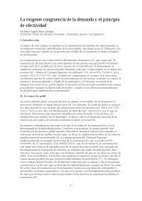 DEMANDA Y PRINCIPIO DE EFECTIVIDAD