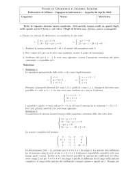 geometria 2034 esercizi per gli studenti
