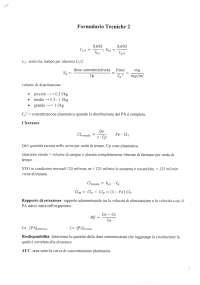 Formulario di tecniche 2