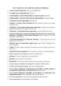 TEST Strategia di comunicazione d'impresa ECONOMIA PEGASO
