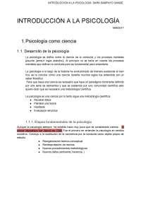 Psicología Tema 1