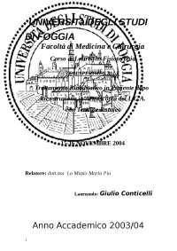Trattamento Riabilitativo in Paziente dopo Ricostruzione in Artroscopia LCA Tendine Rotuleo