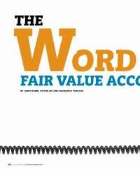 Articel Fair Value Measurement
