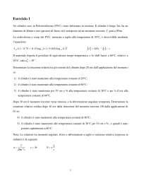 Esercizi di materiali polimerici A-polimi